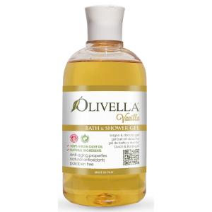 Гель для душа Ваниль на основе оливкового масла, 500мл - Olivella Bath & Shower Gel Vanilla