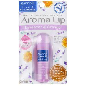 Бальзам для губ Лаванда-цитрус, 4гр - Omi Brotherhood Menturm Aroma Lip Lavender & Orange