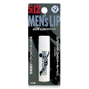 Гигиенический мужской бальзам для губ Ментурм - Omi Brotherhood Menturm Medicated Men Lip SPF-12