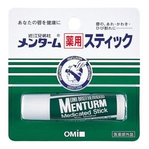 Помада гигиеническая для губ с ментолом (Оми Бразерхуд) - Omi Brotherhood Menturm Medicated Lip Stick