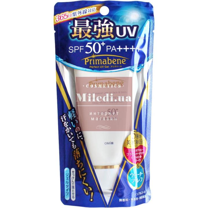 Гель солнцезащитный с экстрактом плаценты - Omi Brotherhood Primabene Perfect UV Gel SPF 50+ PA++++