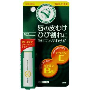 Гигиеническая помада с витаминами Е и В6, 5гр - Omi Brotherhood Menturm Medical Lip Stick