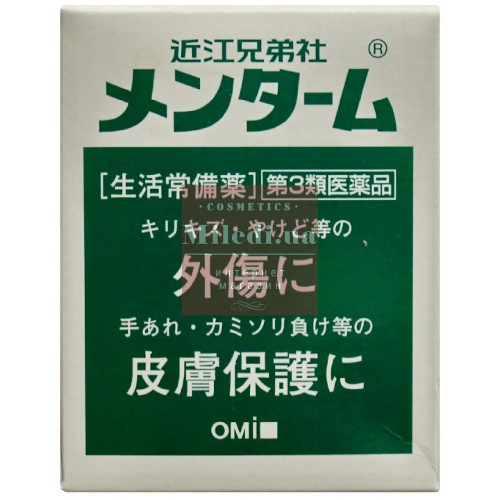 Лечебный регенерирующий бальзам для лица и тела - Omi Brotherhood Menturm 40g Ointment, 40гр