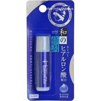 Бальзам для губ Супер увлажняющий, 5.2гр - Omi Brotherhood Wano Lip Super Hyaluronic Acid