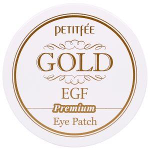 Гидрогелевые патчи для глаз с золотом и EGF (Петитфи) - Petitfee Premium Gold