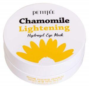 Патчи для глаз с экстрактом ромашки, 60шт - Petitfee Chamomile Lightening Hydrogel Eye Mask