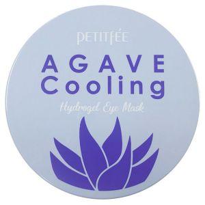 Патчи для глаз с экстрактом агавы, 60шт - Petitfee Agave Cooling Hydrogel Eye Mask