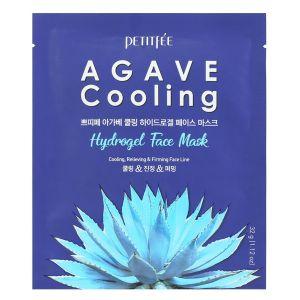 Гидрогелевая маска с экстрактом агавы, 5шт - Petitfee Agave Cooling Hydrogel Face Mask