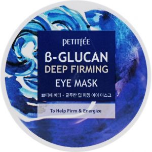 Патчи для глаз с бета-глюканом, 60шт - Petitfee B-Glucan Deep Firming Eye Mask