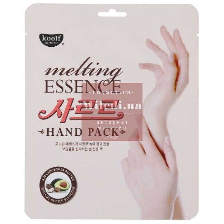 Маска-перчатки питательная и смягчающая для кожи рук - Koelf Melting Essence Hand Pack