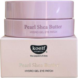 Патчи для глаз с жемчугом и маслом ши, 60шт - Koelf Pearl & Shea Butter Hydro Gel Eye Patch