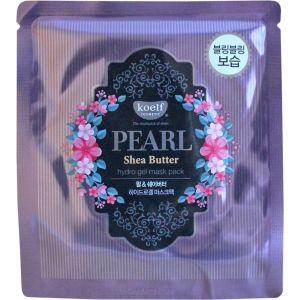 Гидрогелевая маска с жемчугом и маслом ши, 5шт - Koelf Pearl & Shea Butter Hydro Gel Mask Pack