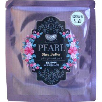 Маска гидрогелевая для лица с жемчугом и маслом ши - Koelf Pearl & Shea Butter Hydro Gel Mask Pack