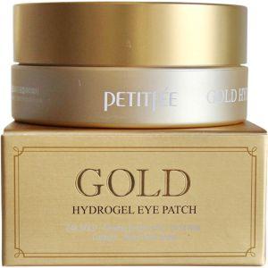 Гидрогелевые патчи для глаз с золотым комплексом (Петитфи) - Petitfee Gold