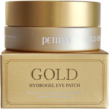 Патчи гидрогелевые для кожи вокруг глаз с золотым комплексом - Petitfee Gold Hydro Gel Eye Patch