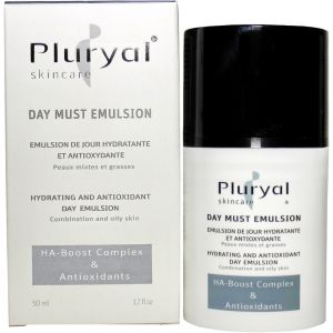 Увлажняющая антивозрастная эмульсия, 50мл - Pluryal Skin Care Day Must Emulsion
