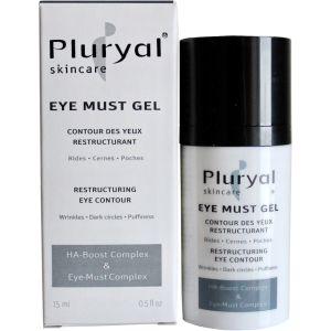 Гель-контур для кожи вокруг глаз антивозрастной уход (Плюриаль) - Pluryal Skin Care Eye Must Gel