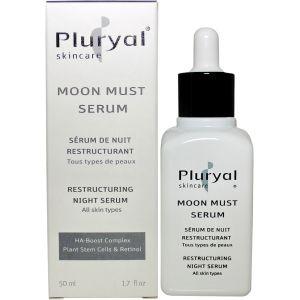 Сыворотка реструктурирующая ночная антивозрастной уход - Pluryal Skin Care Moon Must Serum