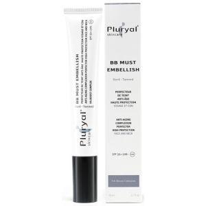 ВВ крем с фото-защитой (тон загара) Плюриаль - Pluryal Skin Care BB Must Embellish Tanned SPF50+