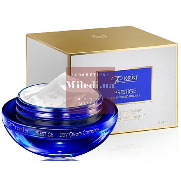 Крем-комплекс дневной для нормальной и жирной кожи - Dead Sea Premier Day Cream Complex For Normal to Oily skin SPF17, 60мл