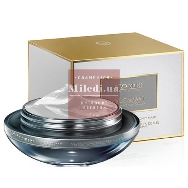 Маска с грязью, водорослями и медом для жирной кожи - Dead Sea Premier Mud, Seaweed & Honey Mask For normal to Oily Skin