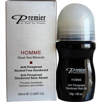 Дезодорант высокоэффективный для мужчин - Dead Sea Premier Anti-Perspirant  Alcohol Free Deodorant For Men