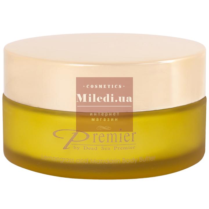 Ароматическое питательное масло для тела «Лемонграсс и мандарин» - Dead Sea Premier Lemongrass & Mandarin Body Butter, 175мл
