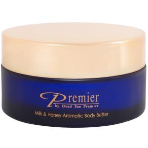 Масло для тела Молоко и мед, 175мл - Dead Sea Premier Milk & Honey Aromatic Body Butter