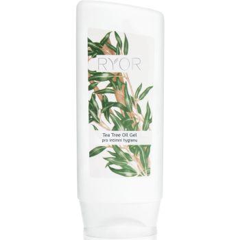 Гель с чайным маслом для интимной гигиены, 200мл - Ryor Tea Tree Oil Gel for Intimate Hygiene