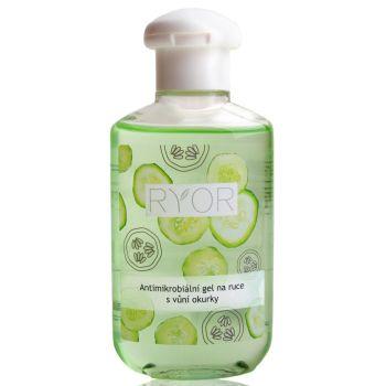 Антимикробный гель для рук с ароматом огурца, 150мл - Ryor Antimicrobial Hand Gel Cucumber Scent