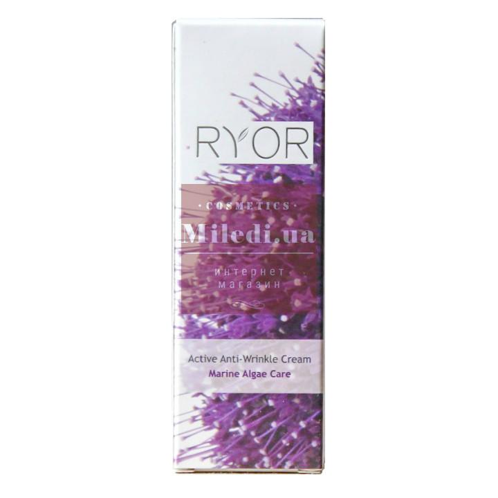 Эффективный крем против морщин с морскими водорослями - Ryor Active Anti-Wrinkle Cream with Marine Algae, 50мл