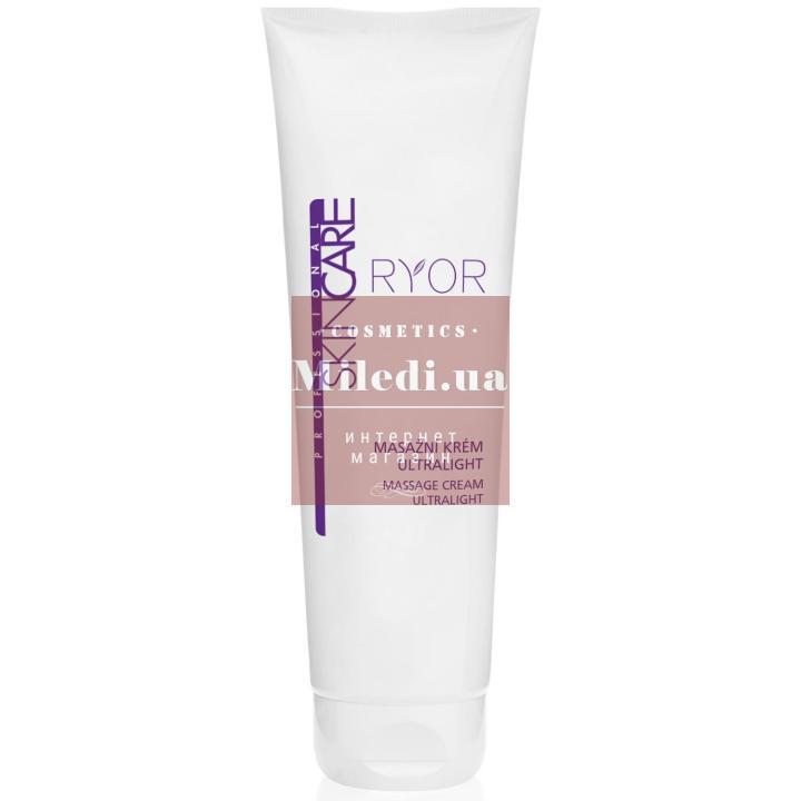 Массажный ультралегкий крем для длительного массажа - Ryor Professional Skin Care Massage Cream Ultralight, 250мл