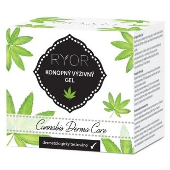 Конопляный питательный гель, 15мл - Ryor Cannabis Derma Care Nourishing Hemp Gel