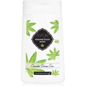 Конопляное регенерирующее молочко для тела, 200мл - Ryor Cannabis Derma Care Hemp Body Lotion