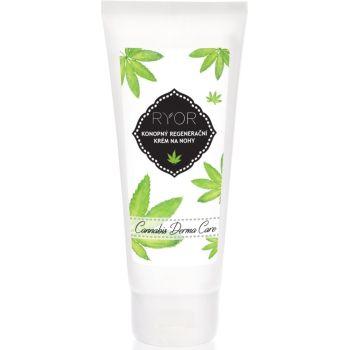 Конопляный регенерирующий крем для ног, 100мл - Ryor Cannabis Derma Care Regenerative Hemp Foot Cream
