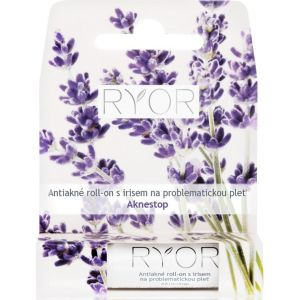 Анти-акне ролик с ирисом для проблемной кожи, 4.4гр - Ryor Anti-acne Roll-on with Iris