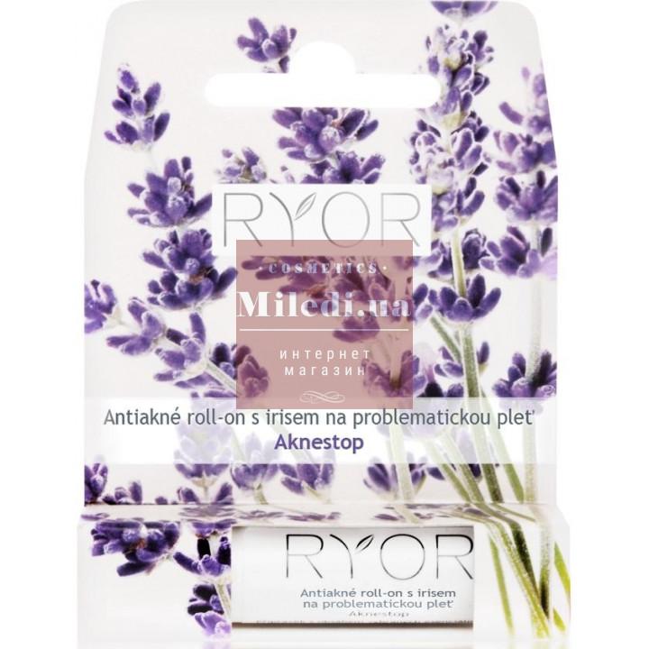 Анти-акне ролик с ирисом для проблемной жирной кожи с акне - Ryor Anti-acne Roll-on with Iris for Problematic Skin, 4.4гр