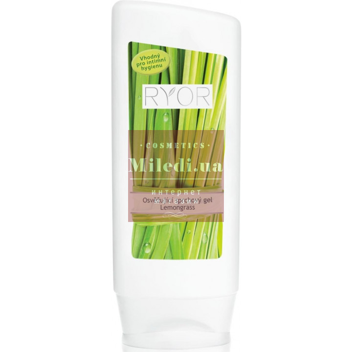Освежающий гель для душа «Лемонграсс» - Ryor Refreshing Shower Gel Lemongrass, 200мл