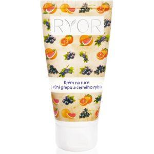 Крем для рук с грейпфрутом и черной смородиной, 50мл - Ryor Hand Cream Scent of Grapefruit Black Currant