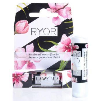 Бальзам для губ с рисовым маслом и японской вишней, 4.5гр - Ryor Lip Balm Rice Oil & Japanese Cherry