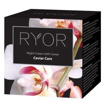 Ночной крем с экстрактом икры, 50мл - Ryor Caviar Care Night Cream Caviar