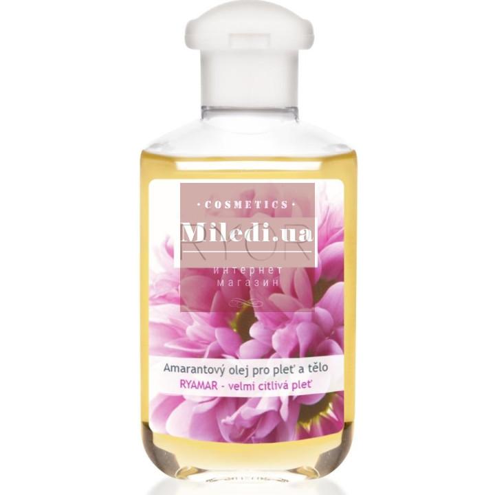 Натуральное амарантовое масло для кожи лица и тела - Ryor Amaranth Body & Skin Oil, 150мл