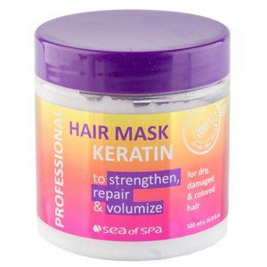 Маска с кератином для сухих волос, 500мл - Sea of Spa Hair Mask Keratin