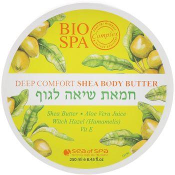 Крем-масло для тела с маслом ши и оливковым маслом, 250мл - Sea of Spa Bio Spa Deep Comfort Shea Body Butter