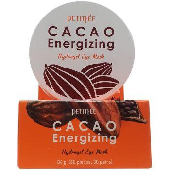 Патчи для глаз с экстрактом какао, 60шт - Petitfee Cacao Energizing Hydrogel Eye Patch