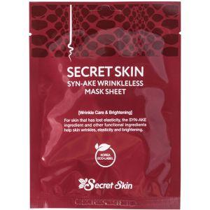 Маска с пептидом змеиного яда, шт - Secret Skin Syn-Ake Wrinkleless Mask Sheet