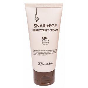 Крем с муцином улитки и EGF фактором, 50мл - Secret Skin Snail + EGF Perfect Face Cream