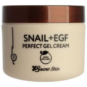 Крем-гель с муцином улитки и EGF фактором, 50мл - Secret Skin Snail + EGF Perfect Gel Cream