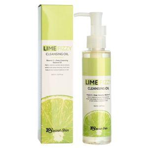Гидрофильное масло с экстрактом лайма и витамином С, 150мл - Secret Skin Lime Fizzy Cleansing Oil