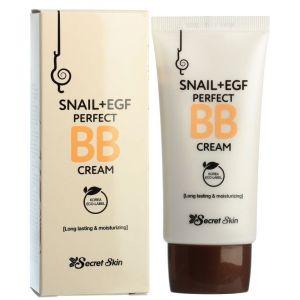 ББ крем с муцином улитки, 50мл - Secret Skin Snail + EGF Perfect BB Cream